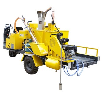 concrete crack repair injection machine road surface crack repair machines surface crack treatment