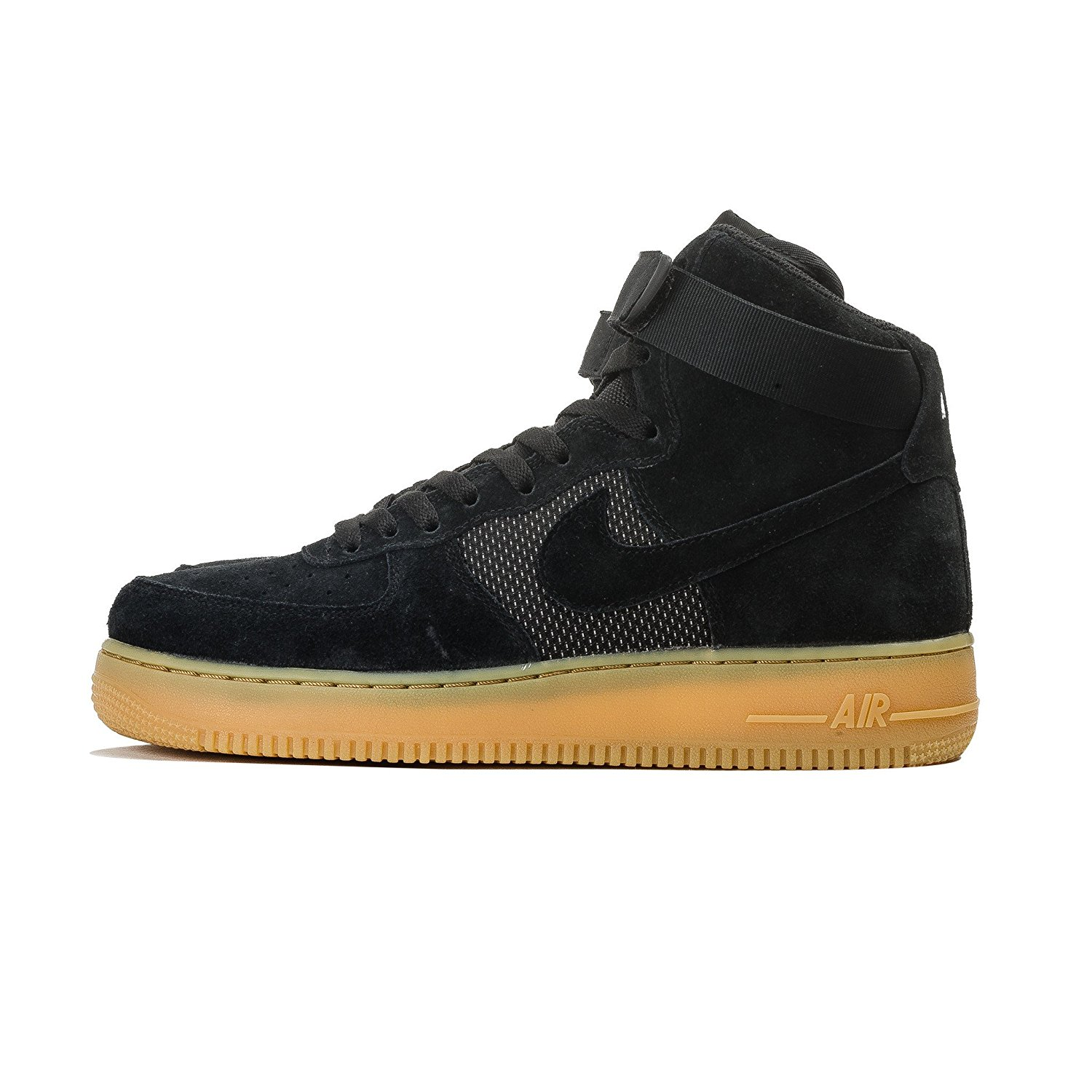 Nike Air Force 1 High 07 LV8 Mens Black/Gum Light Brown/White/Black 806403-003