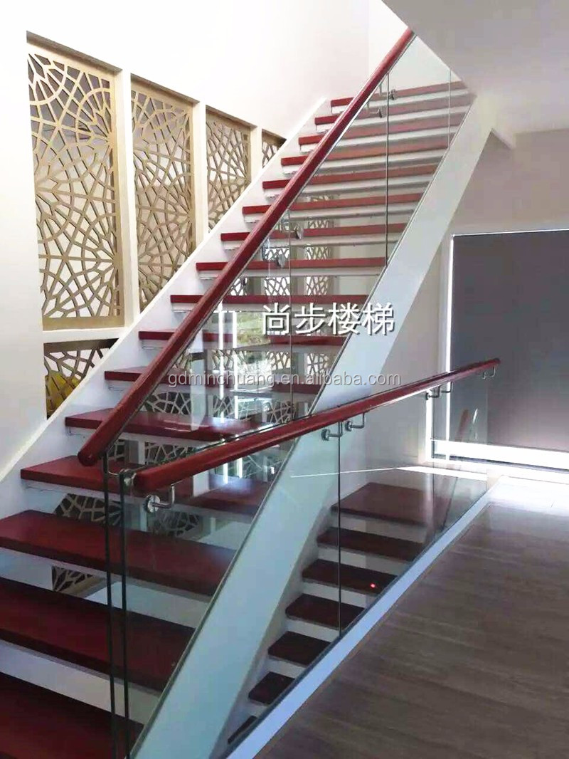Black Painted Staircase Glass Balustrade Stairs