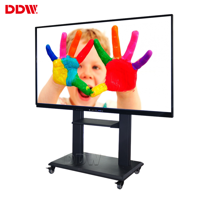 "98 ""mobiele gloview 3d touch promethean trace board digitale vision touch interactieve whiteboard voor school"