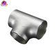 seamless high quality stainless steel 6in sch40 welding equal pipe fitting tee