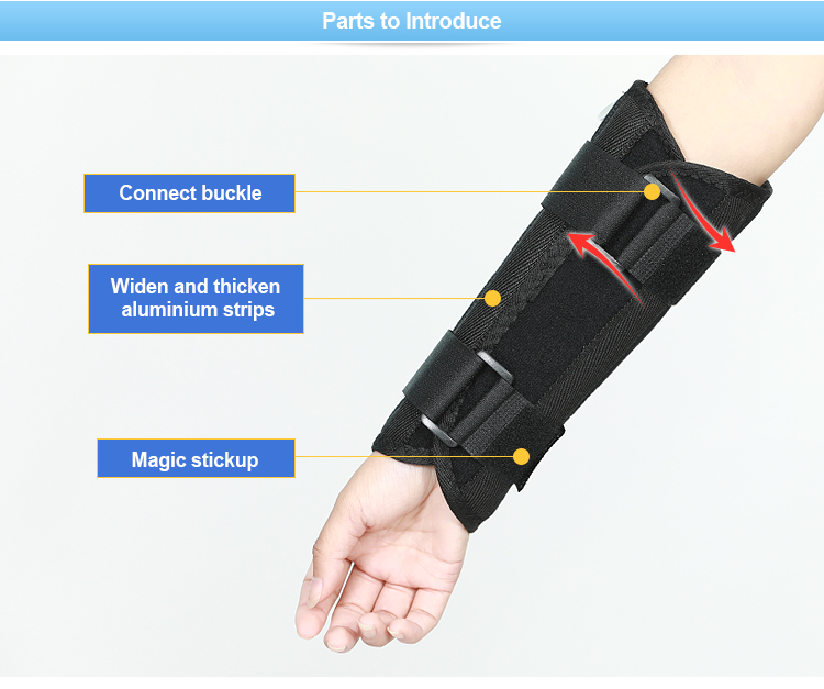 Medical adult forearm sling brace support belt for fracture