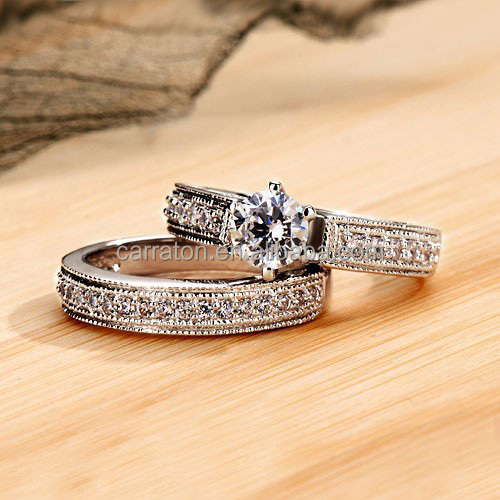 New Arrival Jewelry 925 Sterling Silver Dubai Engagement Wedding