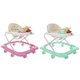 New baby music toddler walker round baby walker