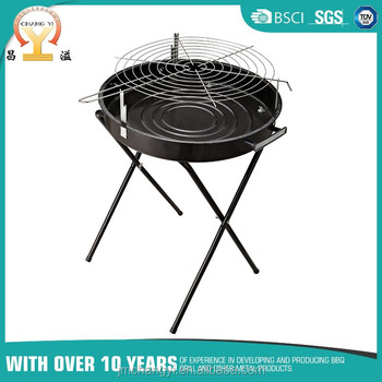 Folding Portable Charcoal Bbq Grill Table Top Cooking Outdoor Home Grilling