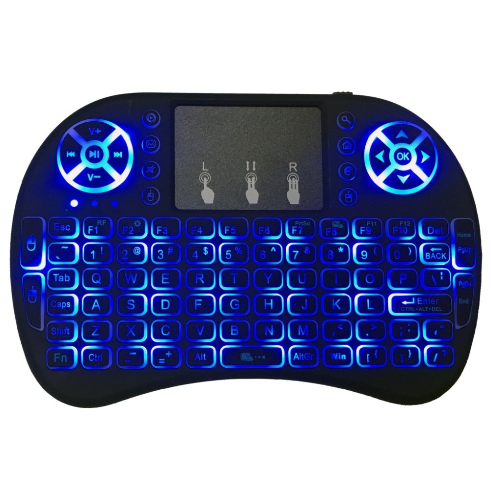 2.4Ghz Wireless Mini Keyboard I8+ Air Mouse For Laptop / Desktop / Android TV box / VR Box / Tablet