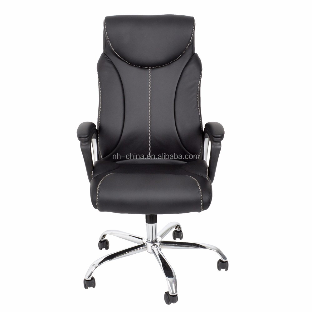 Wholesale cheap price pu leather office chairs for obese for Cheap leather chairs