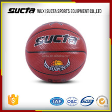 PU material 8 12 panels official size basketball for racing ST1008series