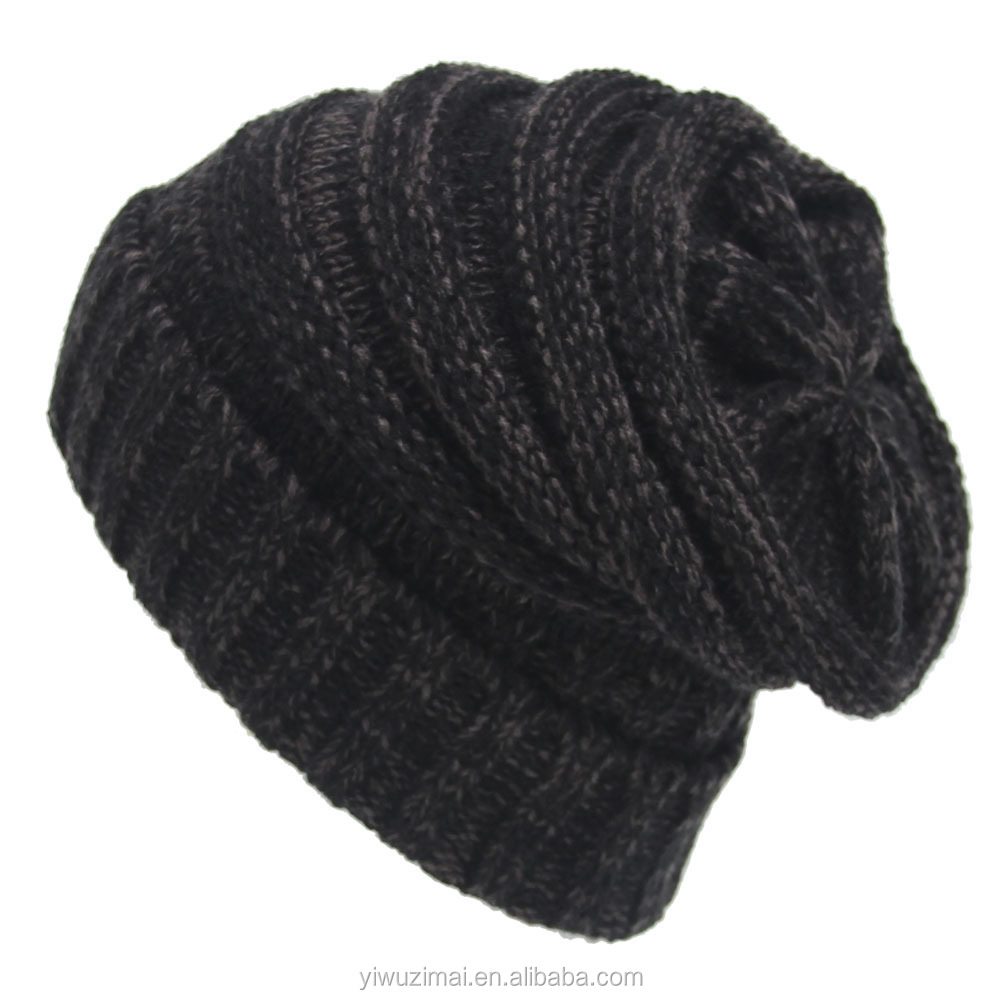 Best Sales Winter Warm Knitted Women and Men Hat High Quality Soft Outdoor Warmer Winter Hats