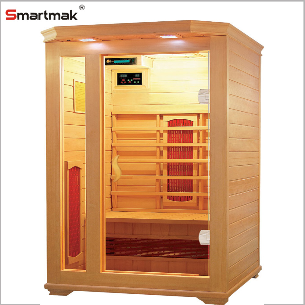2016 New Arrival Ceramic Heating Tube Portable Wooden Far Infrared Sauna