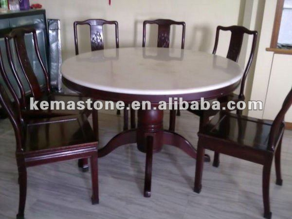 round marble dining table set round marble dining table set suppliers and manufacturers at alibabacom: round white marble dining table