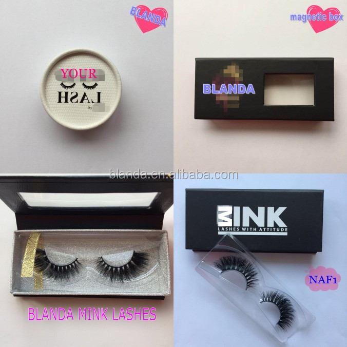 Private Label False Lashes Boxes Package Custom Eyelash Packaging Box for lashes