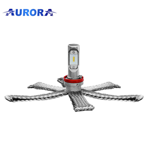 Brightest Led Headlights Aurora New H9 Motorcycle Projector Light Bulbs For Cars