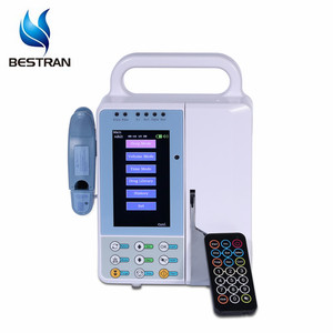BT-IP900 CE ISO hospital portable remote control 500ml disposable medical tpu pressure infusion cuff with pump