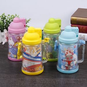 hot sale durable bpa free plastic 2 layer warm keeping drinking water bottles for children
