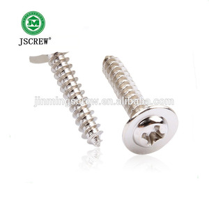 Decorative wafer pan head self tapping screw type 1 self tapping screw