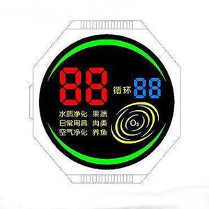 UNLCD20272 Round Color LCD Display