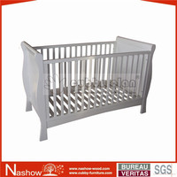 Cubby Cot BC-005 solid Wooden Baby Cot baby crib baby furniture