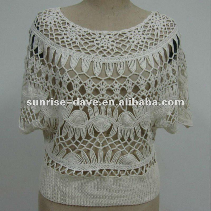 Catálogo de fabricantes de Poncho Suéter Patrones Crochet Poncho de ...