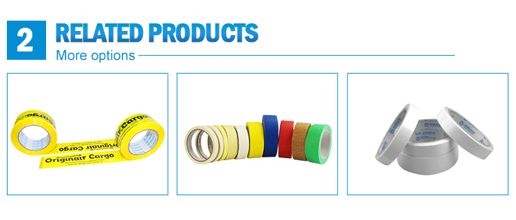 High Quality Nature Resistant Masking Tape for Decoration