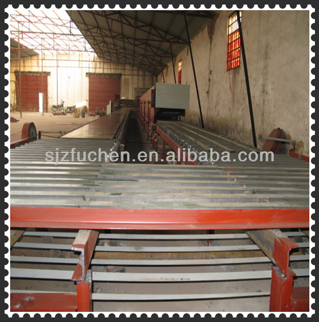 New-design fiber cement board making machine