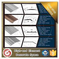 High hardness screws aluminum carborundum floor transition for hotel design