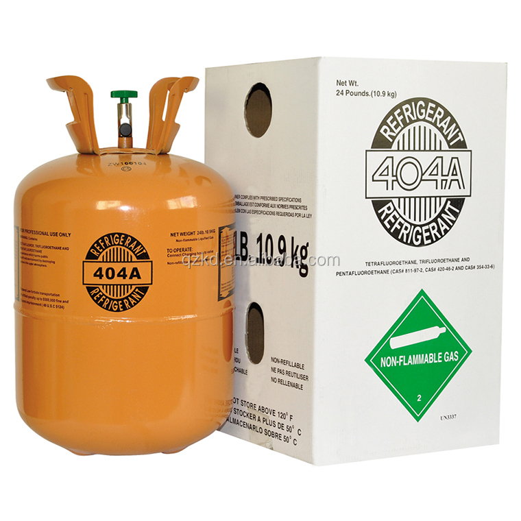 Mixed Composed by R125/R134/R143 green China Refrigerant gas r404a