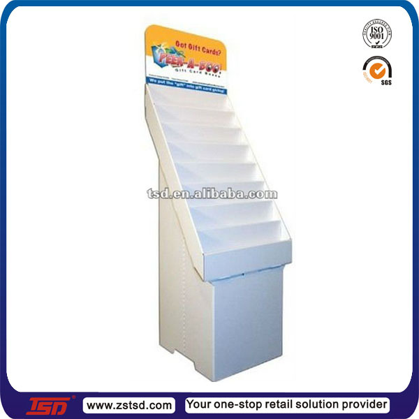 Tsd c754 custom cardboard display stands for greeting cards tsd c754 custom cardboard display stands for greeting cardscardboard box tray greeting m4hsunfo