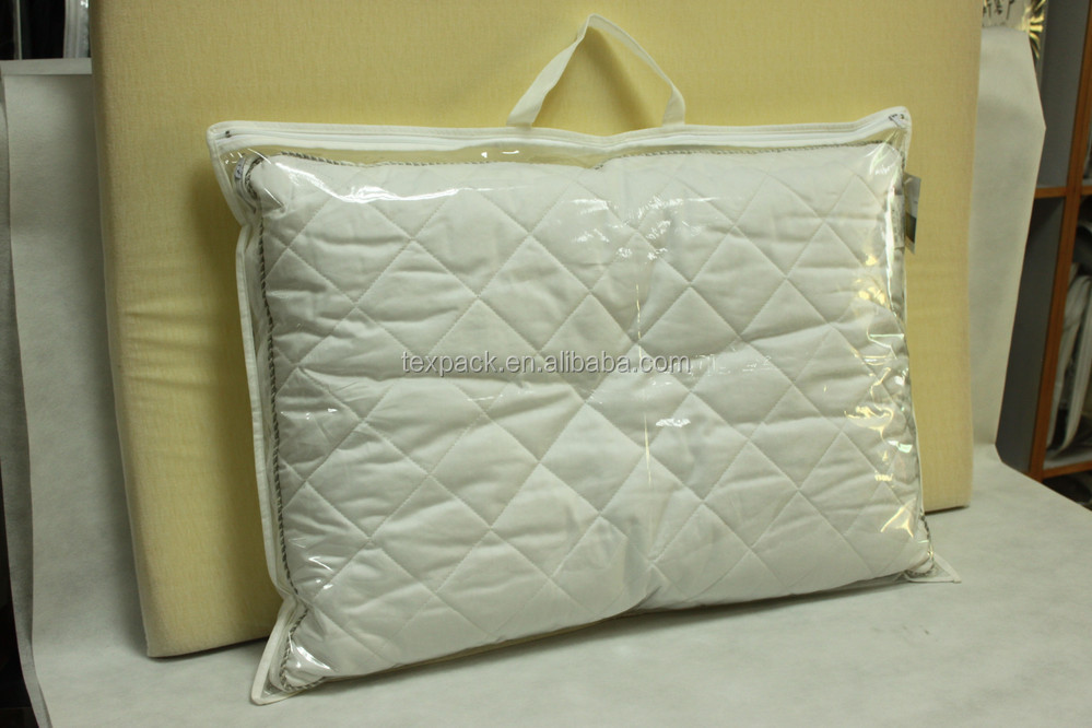 Durable Plastic Zipper Blanket Bag Bed Linen Bag Pillow