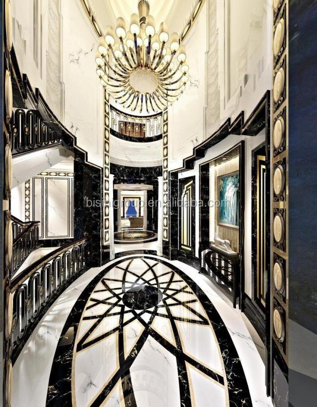 Classic Antique Baroque Design Star Hotel Interior 3d Rendering BF11-02293c
