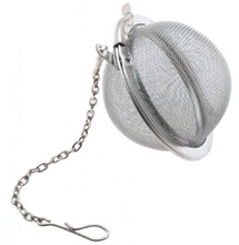4.5 cm Promotie Herbruikbare Roestvrij Bulk <span class=keywords><strong>Thee</strong></span> <span class=keywords><strong>Bal</strong></span> Met Ketting