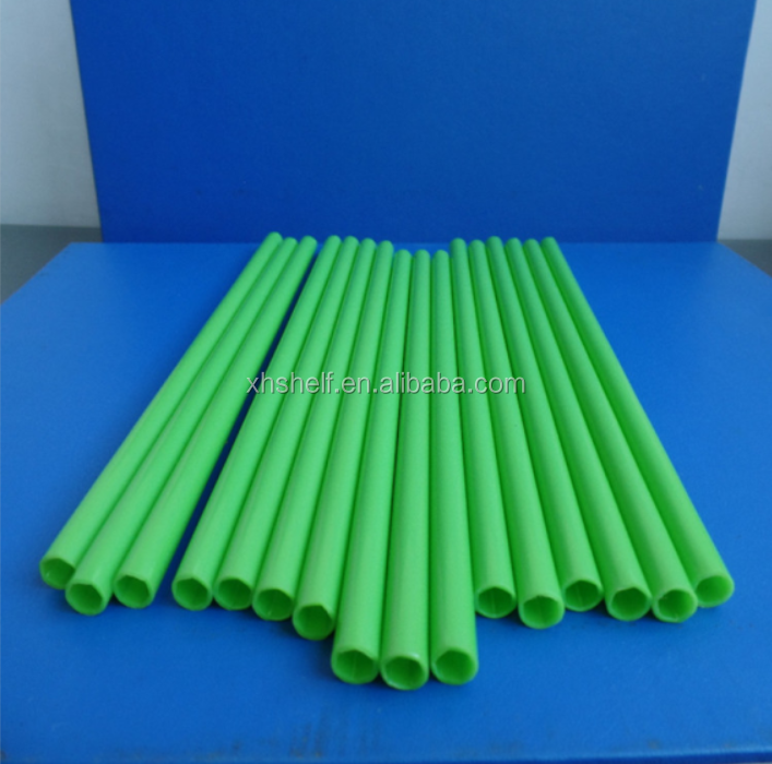 Wholesale price Colorful small pvc transparent hard PP plastic tubes