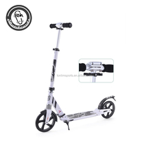2 wheel folding self balancing scooter with brake standing scooter for adult