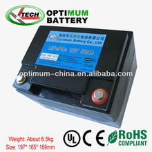 12v car battery 12v 50ah lithium ion for starting
