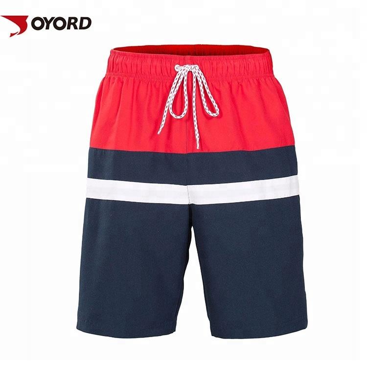 Men's Clothing Men Summer Beach Shorts Thin Breathable Quick Dry Rainbow Colorful Print Short Pants Jl