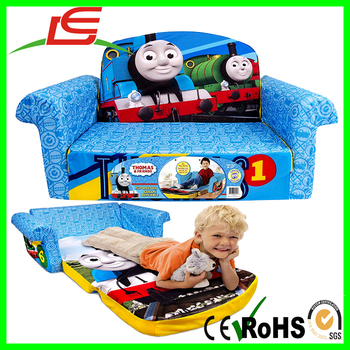 Sofas For Kids Sleeper Chairs Thomas The Train Flip Open Pull Out Bed Toddler