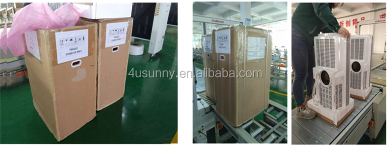 Alibaba Hotsale Camp using 12V DC Powered Portable Solar Air Conditioner