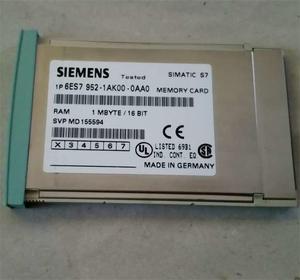 New Siemens programming control module plc 6ES7 952-1AH00-0AA0 256 KB RAM  memory card module