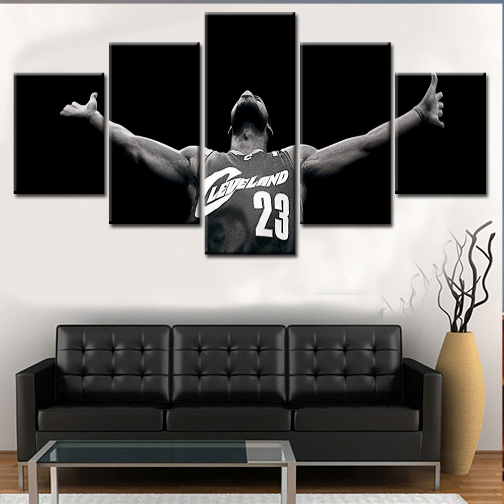 Hot Selling 5 Pcs Film Or Sport Star Modern Oil Painting Wall <strong>Pictures</strong> Art Living Room
