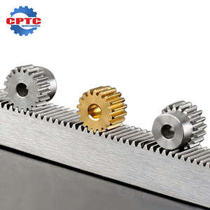 Hot sale factory price custommal refined rack gear 20 teeth helical