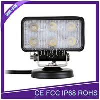hot sell 18W auto led working light, Automobile Square 18w led work light For car/motorcycles/jeep/SUV