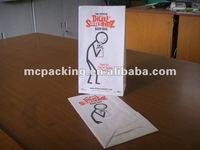 airplane sick bag/vomit bag/barf bag
