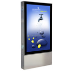ZMsigns Advertising structure LED backlit Lightbox floor scrolling light box