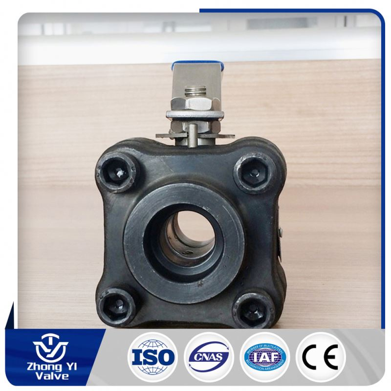 China manufacture 3a 3 pcs butt welded sanitary ball valve