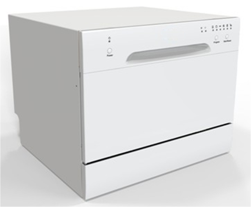 Compact Small Table Top Dishwasher For Eu Market