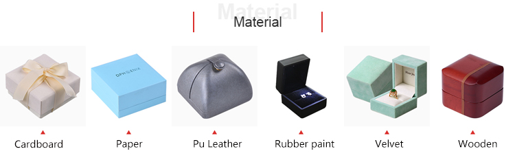 Custom Color Piano Velvet 'jewlery' Box,Oem 'jewlery' Box,Personalized 'jewlery' Box