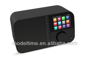 Touch Color TFT DAB+ Radio with FM support DAB+ broadcasting sildeshow