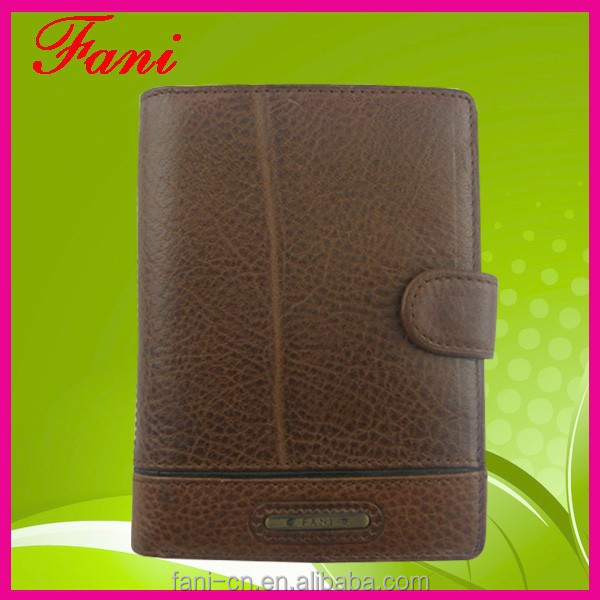 China OEM factory wholesale genuine leather men wallet with high quality