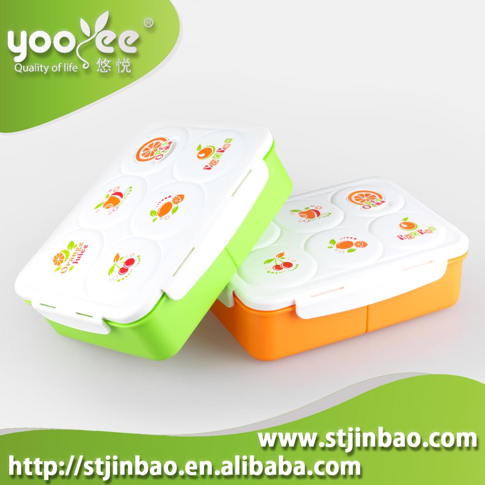 Shantou Factory Yooyee Leak Proof Plastic Lunch Box With Spoon Buy 579