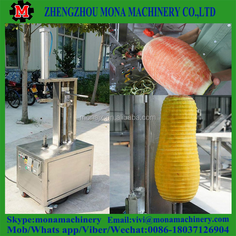 Industrial hami melon peeler machine/Fruit peeling equipment